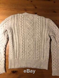 100% Authentic Isabel Marant Etoile Cable knit Wool Sweater Sz. 38