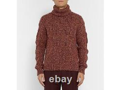 $2,030 BERLUTI Cable-Knit Cashmere Sweater 40 US