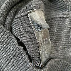 All Saints Dilone Dress Size Medium Slouchy Top LambsWool Cashmere Sweater Cable