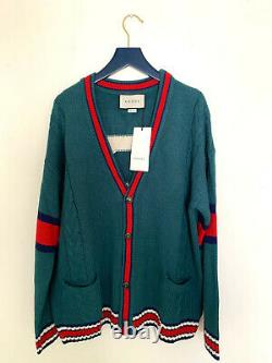 Authentic GUCCI cable knit cardigan size S