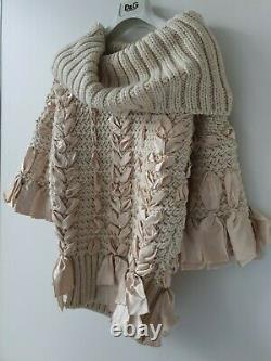 BWWT Christian Dior Runway Collection by John Galliano Cable Knit Sweater XS