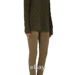 Barneys New York Womens Cashmere Cable-knit Fisherman Sweater