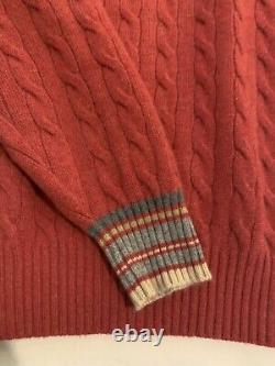 Brunello cucinelli cashmere cable knit sweater. Size 52 or US 41/42