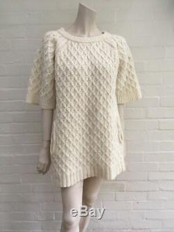 Chloé cable-knit wool Sweater Jumper Dress Size XS