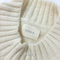 DOEN Reformation Ivory Cable Knit Tree of Life Sweater