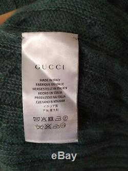 GUCCI Cable Knit Sweater Men M