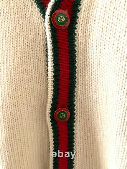 GUCCI Oversize cable knit cardigan size M