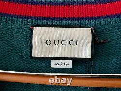GUCCI cable knit cardigan Size M- 100% Authentic