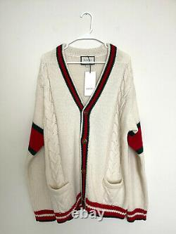 Gucci Oversize cable knit cardigan Size L