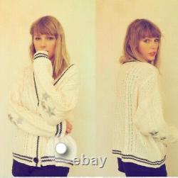 IN HAND Taylor Swift Folklore Cardigan Sweater XL/2X Cable Knit 100% Authentic