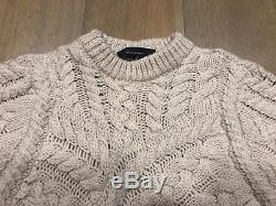 Isabel marant Versus Cable Knit Jumper Sweater FR38