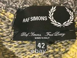 Men's Fred Perry x Raf Simons Chunky Knit Sweater Jumper Size L (Made In Italy)