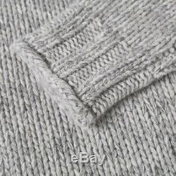 NEW Polo RALPH LAUREN Cable Knit Cashmere Turtleneck Italian Yarn Sweater Jumper