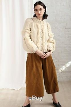 NWT Kordal Cable Knit Sweater Cream