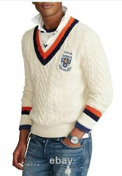 Polo Ralph Lauren Cable-Knit Cricket Sweater
