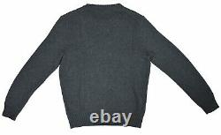 Polo Ralph Lauren Mens Toggle Coat Bear Sweater, Gray, Size X-Large, 3541-8