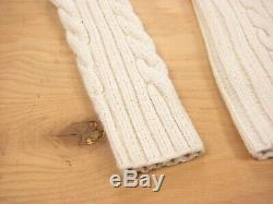 RRL Ralph Lauren Cable Knit Turtleneck Sweater Size Small