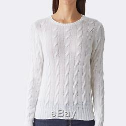 Ralph Lauren Purple Label Collection Cable Knit Cashmere Sweater New $690