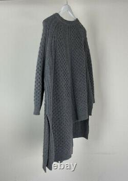 STELLA MCCARTNEY Cable-knit wool and alpaca-blend sweater Size S RRP $1350