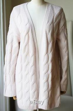 Sablyn Alice Cable Knit Cashmere Cardigan Small