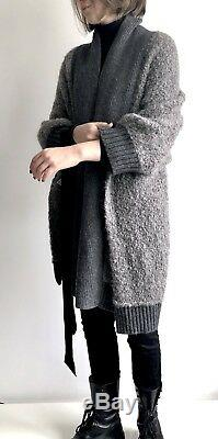 Sacai luck Cardigan Tops Design Cable Knit Sweater Wool Genuine Japan